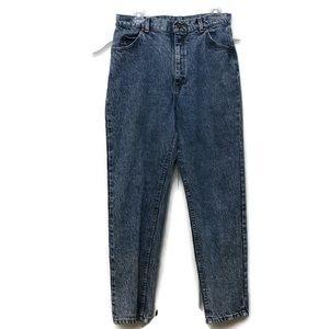 Lee Vintage Jean Acid Wash High Rise Mom